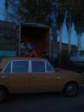 Lada at the bazaar