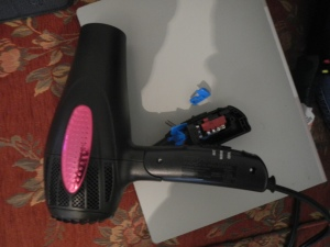 my rip-off hairdryer