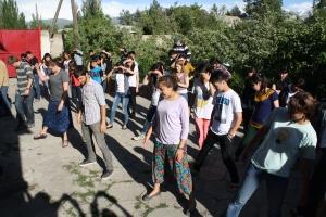 line dancing in Karakol